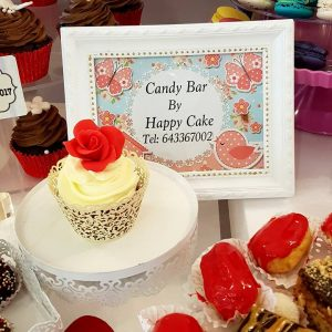 CANDY BAR HAPPY CAKE